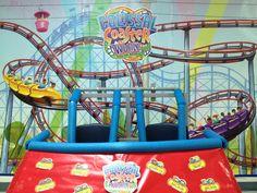 VBS 2013 Colossal Coaster World, Coaster Car. Eternal Faith Baptist, Manor, TX