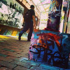 #graffiti #graffitialley #streetart #cambridge #k2yhe #passerby
