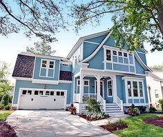 coastal homes, idea, home plans, cottage houses, floor plan, dream, hous plan, blue houses, egan point