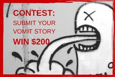 CONTEST: Share Your Vomit Horror Story to Win CampusMD + $200. Deadline Sept. 28