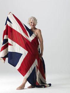 Helen Mirren. I just oozed on myself a little.
