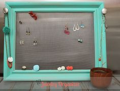 jewelri holder, organ display, ear holder, diy jewelry, diy jewelri, jewelry holder, diy earrings, jewelri organ