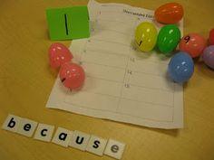 spelling center idea