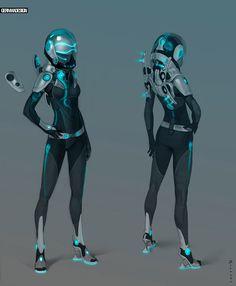 Space Suit concept by Zaryuta - Alexey Zaryuta - CGHUB