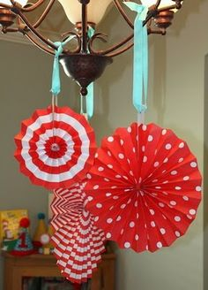 Love these and they would be a simple DIY project using scrapbook paper.