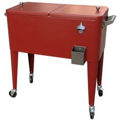 Country Cooler Steel Cooler, 80 qt., Red - Tractor Supply Online Store #FourthofJuly #Independence Day