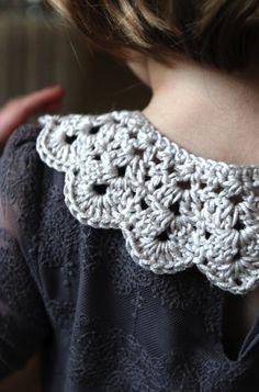 crochet a peter pan collar
