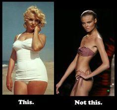 cheeseburgers, body images, marilyn monroe, real women, bones