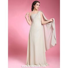 Chiffon in silver would be pretty