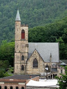 St. Mark's Church, Jim Thorpe, Pennsylvania (PA) by bobindrums, via Flickr