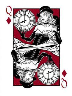 Queen of diamondsQueen Of Diamonds Tattoo