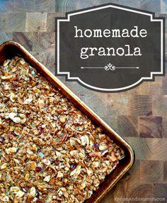 Homemade Granola (Gl