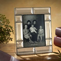 J. Devlin Glass Art Beveled Glass 5 x 7 Vertical Photo Frame #VonMaur