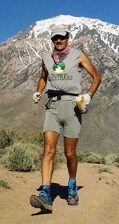 John Radich - Ultramarathon runner for The Way to Happiness Foundation