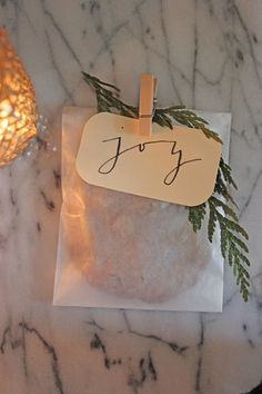 Gift wrapped cookies... sweet and simple party favor, wrapped and ready for guests to enjoy at home