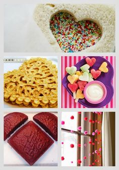 sprinkl, sandwich, valentine day, bread, lunch, cookie cutters, peanut butter, cut outs, kid
