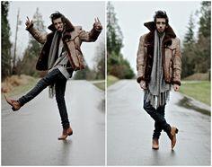 thuggin shoes, lb mobil, fashion victim, mobiles, men stylefashion, menswear, pimp coat, coats, boots