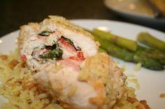 chef recip, eleg chicken, chicken roll, rolls, chef chicken