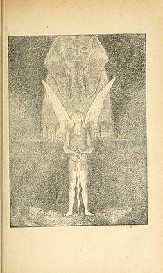 Via http://www.johncoulthart.com/feuilleton/2014/09/10/salon-de-la-rose-croix/   From La Queste du Graal: Proses Lyriques de l'Éthopée; La Décadence Latine (1892).