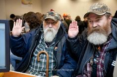 At around 1:30am, Larry Duncan, 56, left, and Randy Shepherd, 48, from North Bend, Wash. got their marriage license. The two plan to wed on December 9th, the first day it is possible for them to wed in a church in Washington State. They have been together for 11 years.