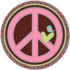 peace sign - /
