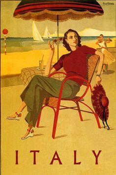 vintag poster, italian vintage posters, vintage travel posters, art deco posters