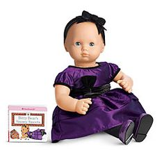 American Girl® Clothing: Pretty in Purple Outfit for Dolls