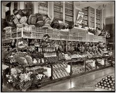 Shorpy Historical Photo Archive :: Neumann Grocery: 1910
