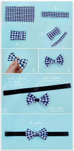 No Sew Doggie Bow Tie | Pretty Fluffy