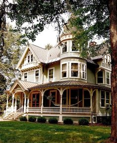 My dream house is Victorian.