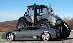 'The first Lamborghinis were tractors, and they're still made today.' Check out: 10 Facts You Didn't Know About Lamborghini. #Lambo #spon