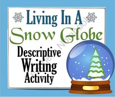 Christmas Writing Activity: Living in a Snow Globe (Metaphor, Simile, Imagery) from Presto Plans on TeachersNotebook.com -  (3 pages)  - Christmas Writing Activity: Living in a Snow Globe (Metaphor, Simile, Imagery)