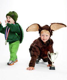 Halloween Costume Idea: Tortoise and Hare