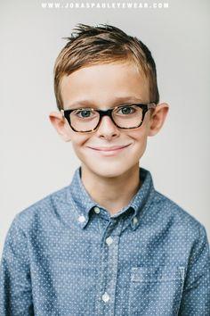 The Miles Frame // inspired eyewear for children // www.jonaspauleyewear.com