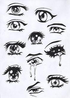 #comic #manga #drawing #tutorial #eyes