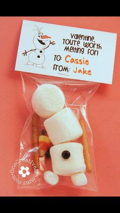 Cute winter-valentine treat idea!