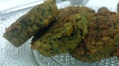 פלאפל ירוק עם פיסטוק טבעוני