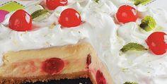 Torta Gelada de Cereja