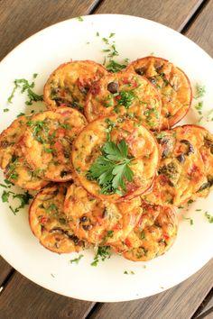 Zucchini Bites with Bacon & Cheese Recipe