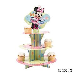 Base para Cupcakes Minnie Mouse