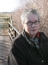 "Annie Proulx, American journalist and author. Won the Pulitzer Prize for Fiction in 1994 for her book ""The Shipping News"""
