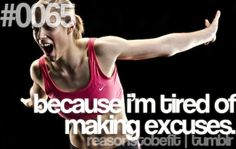 My background screen on my PC! Excuses is what keeps us from success!   #ReasonsToBeFit