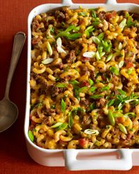Macaroni-and-Beef Casserole