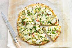Summer Squash Pizza Recipe ~ #kraftrecipes