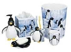 Penguin bathroom