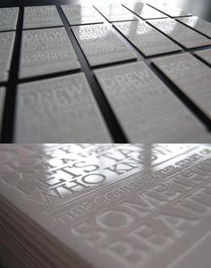 Drew Hoffman   #Business #Card #visitenkarte #creative #paper #businesscard #corporate #design found on http://awesomeinspiration.net pinned by www.BlickeDeeler.de   Follow us on www.facebook.com/BlickeDeeler