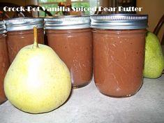 Crock-Pot Vanilla Spiced Pear Butter - CrockPotLadies.com