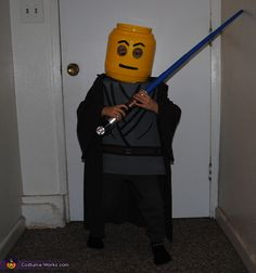 Lego Star Wars Minifigure - Halloween Costume Contest