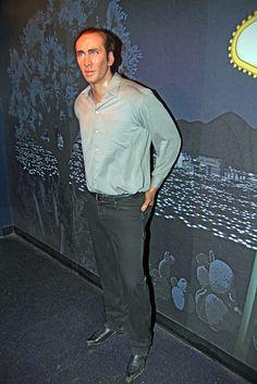 Nicolas Cage at Madame Tussaud's Wax Museum ~ Las Vegas, Nevada