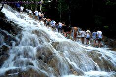 Dunn's River Falls in Ocho Rios Jamaica